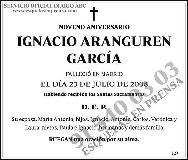 Ignacio Aranguren García